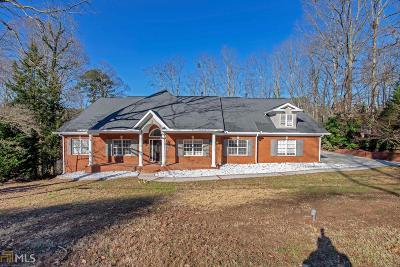 Atlanta Single Family Home New: 1465 Loch Lomond