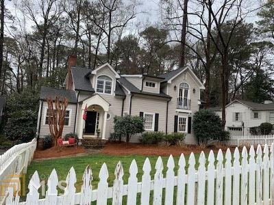 Atlanta Single Family Home Under Contract