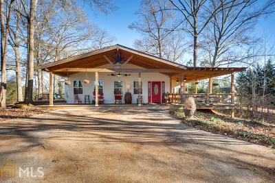 Single Family Home New: 6051 Burnt Hickory Trail