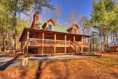 Ellijay Single Family Home Under Contract: 38 East Ridge