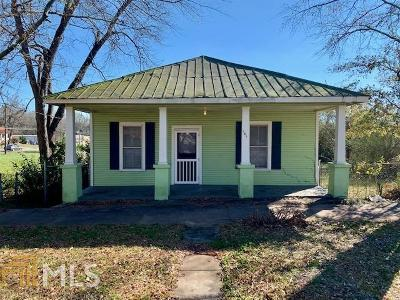 Haddock, Milledgeville, Sparta Single Family Home For Sale: 141 E Hall