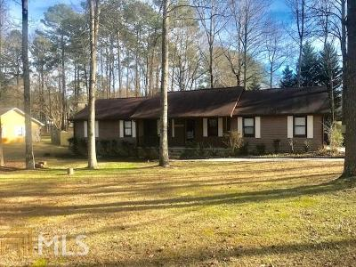 Loganville Single Family Home New: 615 Sherry Lane