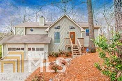 Marietta Single Family Home Under Contract: 2835 Shaw Rd
