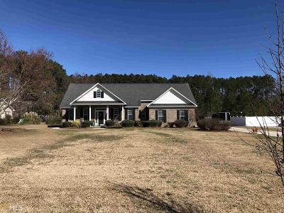Statesboro Single Family Home New: 6986 Rushing Rd