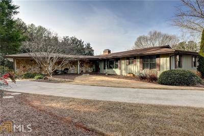 Roswell Single Family Home Under Contract: 720 Brookfield Pkwy