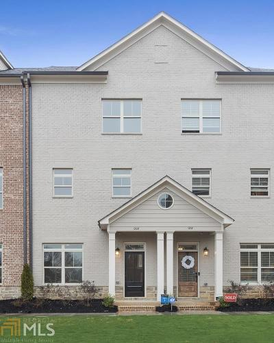 Smyrna Condo/Townhouse New: 1208 Stone Castle Circle #3