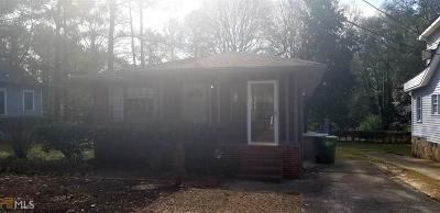 Atlanta Single Family Home Under Contract: 100 SW Peyton