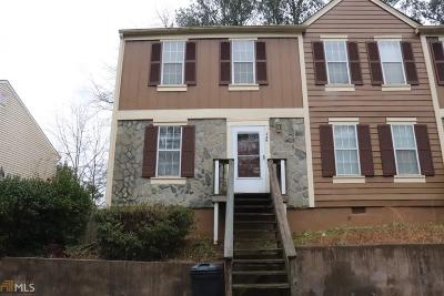 Marietta Condo/Townhouse Back On Market: 349 W Post Oak Xing