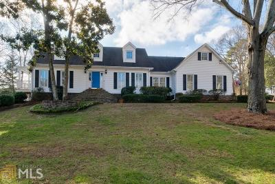 Douglasville Single Family Home Under Contract: 8580 Lake Forest Dr