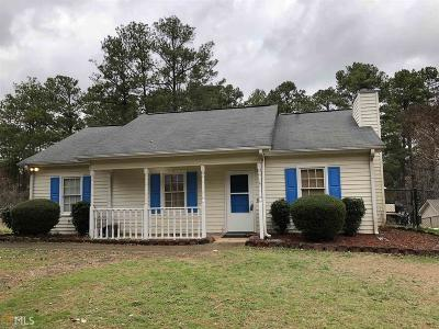 Griffin Single Family Home Under Contract: 547 Jordan Hill Rd