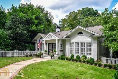 Atlanta Single Family Home New: 616 E Paces Ferry Rd