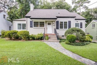 Atlanta Single Family Home New: 1969 N Decatur Rd