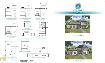 Suwanee Single Family Home New: 885 Wescott Avenue