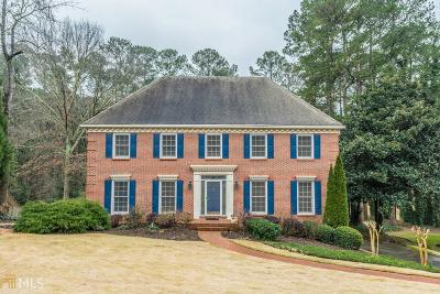 Lilburn Single Family Home Under Contract: 5466 Georgetown Tr