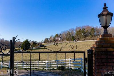 Habersham County Single Family Home For Sale: 5401 Camp Creek Rd