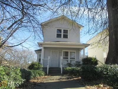 Atlanta Single Family Home New: 898 Washington Street