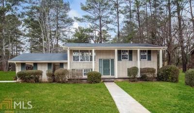 Decatur Single Family Home New: 2706 Bradmoor Way