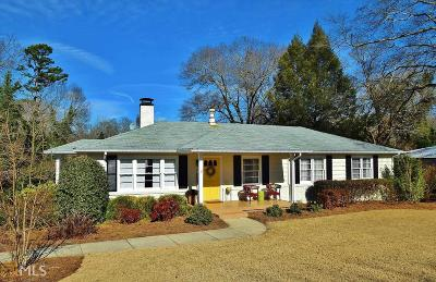 Hall County Single Family Home Under Contract: 326 Mountain View Dr