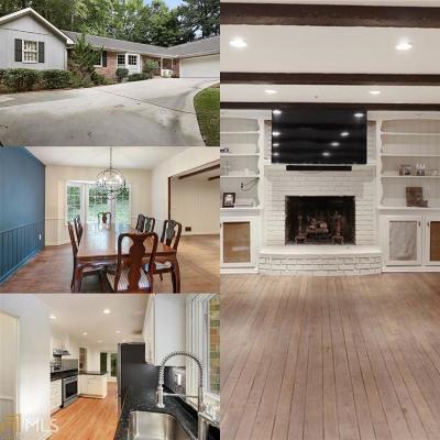 Atlanta Single Family Home New: 5280 Mount Vernon Pkwy