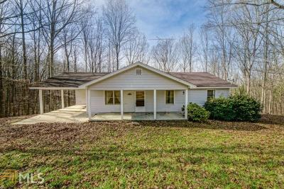 Dawsonville Single Family Home For Sale: 7265 Anderson Lake Rd