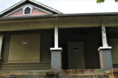 Old Fourth Ward Single Family Home For Sale: 67 Fitzgerald