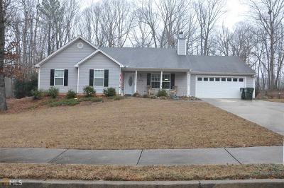 Monroe, Social Circle, Loganville Single Family Home Under Contract: 1623 Spring Hill Ct