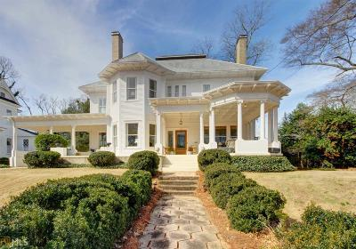 Griffin Single Family Home For Sale: 557 S Hill