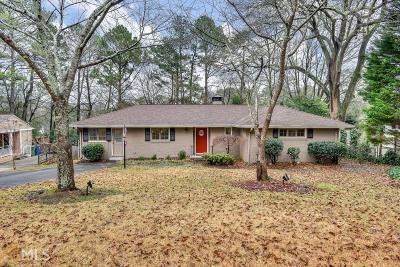 Atlanta Single Family Home New: 2493 Parkdale Pl