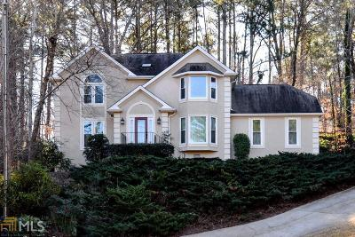 Johns Creek Single Family Home Under Contract: 11090 Surrey Park Trl