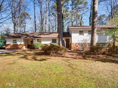 Decatur Single Family Home For Sale: 2679 Tanglewood Rd