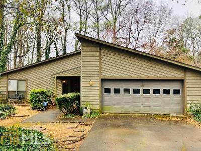 Roswell Single Family Home Under Contract: 10050 Lake Forest