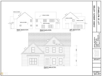 Peachtree City Single Family Home Under Contract: 126 Shadowood Ln