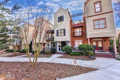 Duluth Condo/Townhouse For Sale: 3647 Ridge Towne Dr