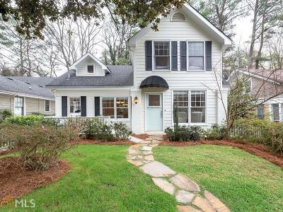 Atlanta Single Family Home New: 2295 Shenandoah Ave