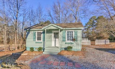 Douglasville Single Family Home Under Contract: 6822 N Baggett Rd