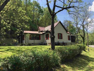 Blairsville Single Family Home For Sale: 926 Lower Trackrock Rd