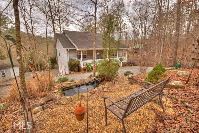 Ellijay Single Family Home Under Contract: 55 Cannon Ct