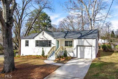Decatur Single Family Home Under Contract: 2254 Wineleas Rd