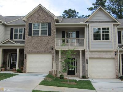 Atlanta Condo/Townhouse New: 2393 Castle Keep Way #Lot #52