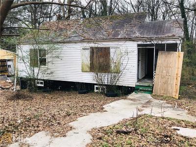 Atlanta Single Family Home New: 2020 NW North Avenue