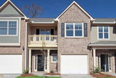 Atlanta Condo/Townhouse New: 2397 Castle Keep Way #Lot #53