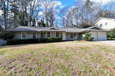 Roswell Single Family Home Under Contract: 1290 Northshore Dr