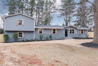 Smyrna Single Family Home New: 480 Pretty View Ln