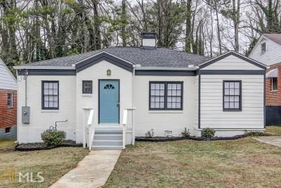 Atlanta Single Family Home New: 1739 Emerald