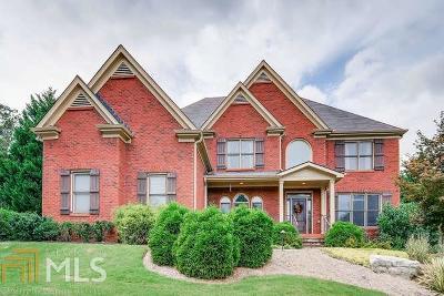 Milton Single Family Home New: 525 Hickory Oaks Court