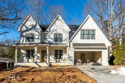 Brookhaven Single Family Home New: 2586 Drew Valley Road NE
