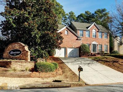 Kennesaw Single Family Home New: 3890 Brentview Place NW