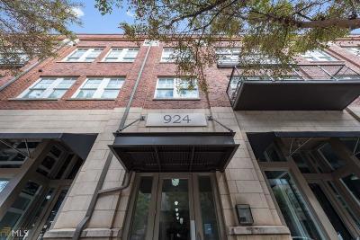 Atlanta Condo/Townhouse New: 924 Garrett #302