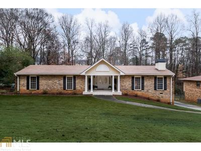 Brookhaven Single Family Home Under Contract: 3433 Wynnton Dr
