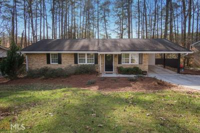 Doraville Single Family Home Under Contract: 2837 Chicopee Dr